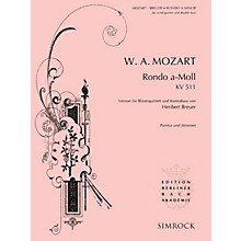 Simrock Rondo in A Minor, K. 511 Series Composed by Wolfgang Amadeus Mozart