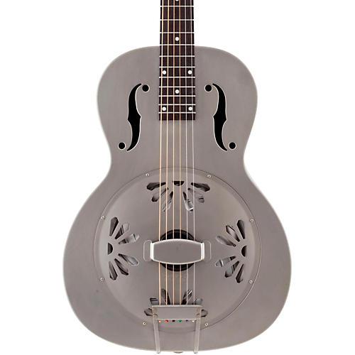 gretsch guitars root series g9201 honeydipper metal round neck resonator nickel plated brass. Black Bedroom Furniture Sets. Home Design Ideas