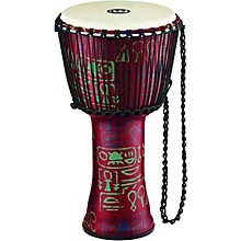 Rope Tuned Djembe with Synthetic Shell and Goat Skin Head 12 in. Pharaoh's Script