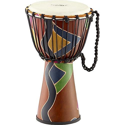 Schalloch Rope-Tuned Fiberglass Djembe
