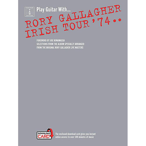 Music Sales Rory Gallagher - Irish Tour '74 Book/Online Audio