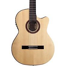 Rosa Luna Flamenco Acoustic-Electric Nylon Guitar Level 2 Natural 190839603401