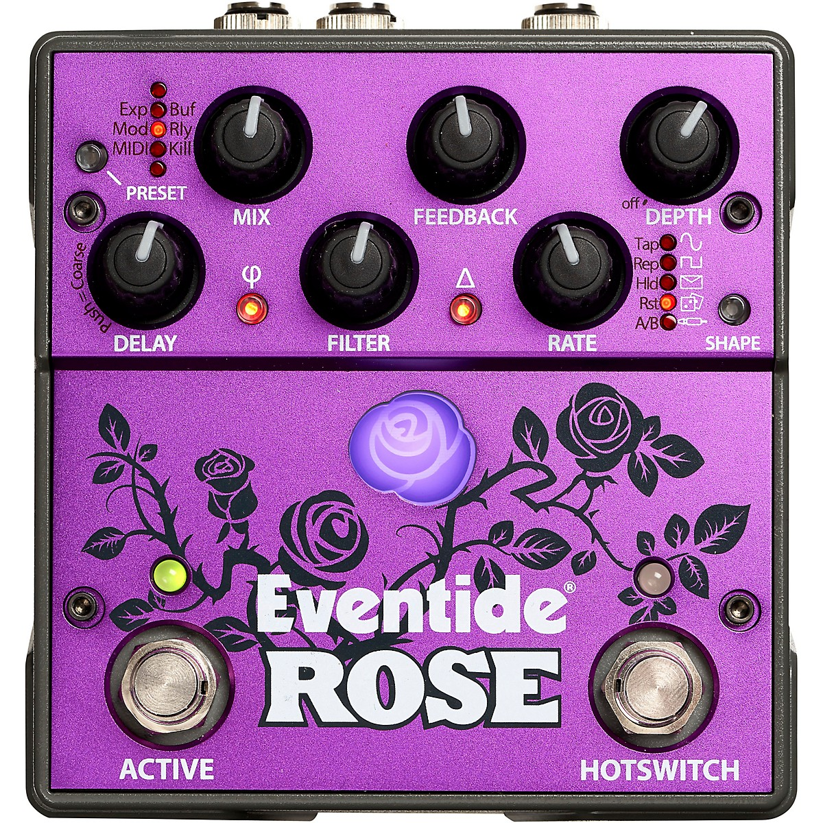 Eventide Rose Digital Delay Effects Pedal