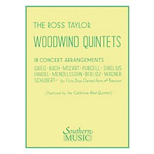 Southern Ross Taylor Woodwind Quintets (Woodwind Quintet) Southern Music Series Arranged by Ross Taylor