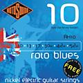 Rotosound Roto Blues Light Top/Heavy Bottom Electric Guitar Strings thumbnail