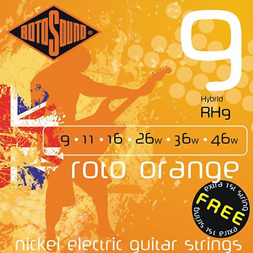 Rotosound Roto Orange Hybrid Electric Guitar Strings