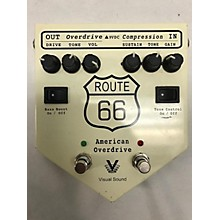 Visual Sound Route 66 American Overdrive Effect Pedal