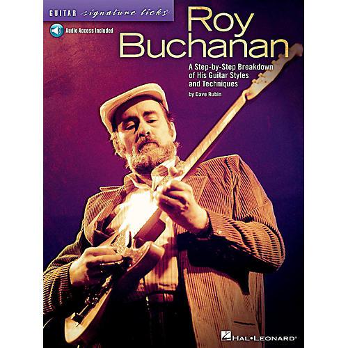 Hal Leonard Roy Buchanan - Guitar Signature Licks Book/Online Audio