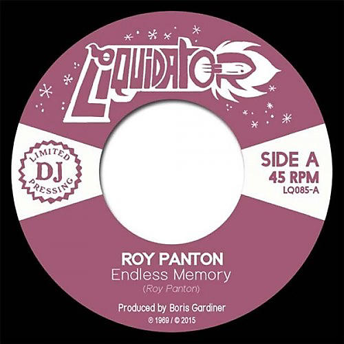 Alliance Roy Panton - Endless Memory / Tell Me