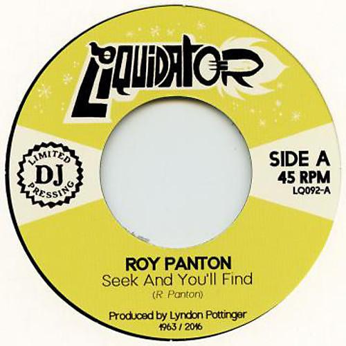 Alliance Roy Panton - Seek & You'Ll Find