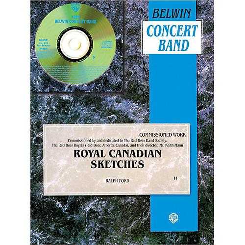 Alfred Royal Canadian Sketches Concert Band Grade 3 Set