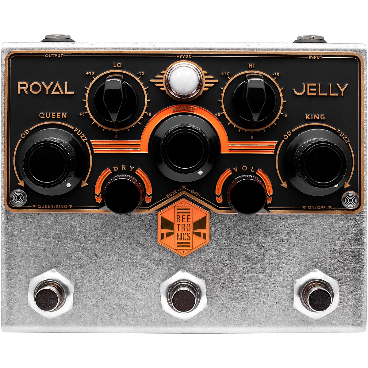 Beetronics FX Royal Jelly Royal Series Overdrive Fuzz Effects Pedal