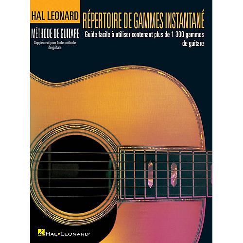 Hal Leonard Répertoire D'Gammes Instantané Guitar Method Series Softcover Written by Various