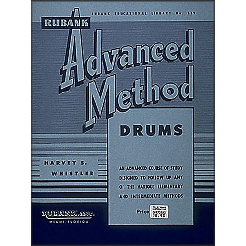 Hal Leonard Rubank Advanced Method for Drums