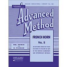 Hal Leonard Rubank Advanced Method for French Horn Volume 2