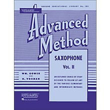 Hal Leonard Rubank Advanced Method for Saxophone Volume 2