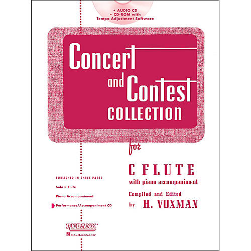 Hal Leonard Rubank Concert and Contest Collection for Flute - Accompaniment CD