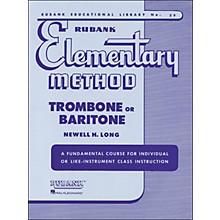 Hal Leonard Rubank Elementary Method Trombone Baritone