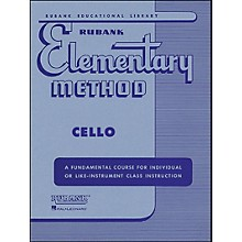 Hal Leonard Rubank Elementary Methods - Cello