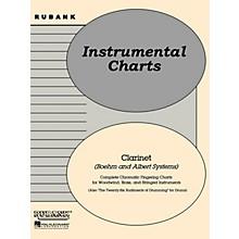 Rubank Publications Rubank Fingering Charts - Clarinet (Boehm and Albert systems) Method Series