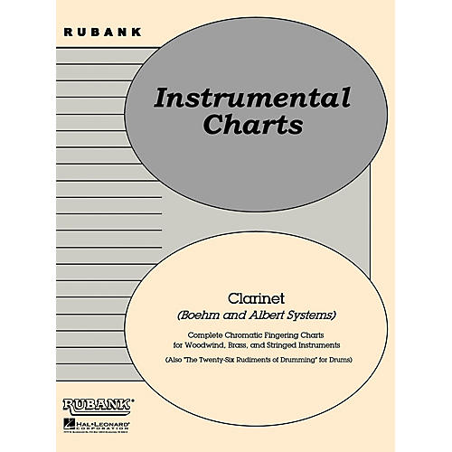 Rubank Publications Rubank Fingering Charts - Clarinet (Boehm and Albert systems) Method Series