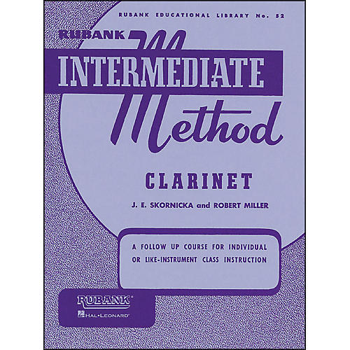 Hal Leonard Rubank Intermediate Method Clarinet
