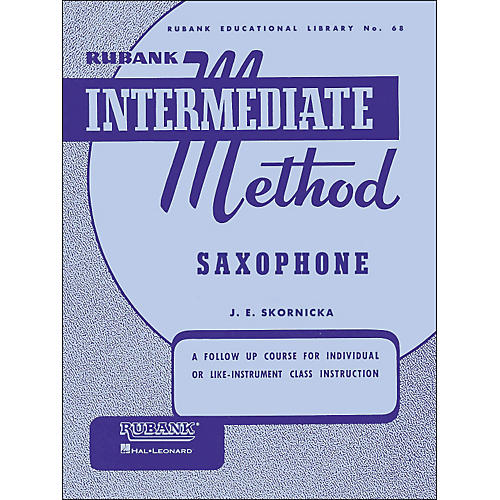 Hal Leonard Rubank Intermediate Method Saxophone
