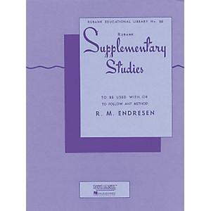 Hal Leonard Rubank Supplementary Studies for Cornet Or Trumpet by Hal Leonard