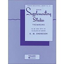 Hal Leonard Rubank Supplementary Studies for Trombone