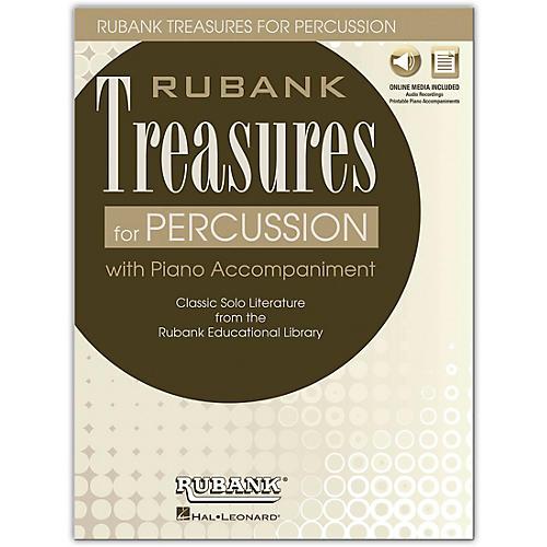 Rubank Publications Rubank Treasures for Percussion Book/Media Online