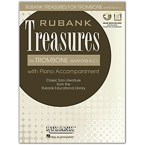 Rubank Publications Rubank Treasures for Trombone Baritone B.C. Book/Onl... by Rubank Publications