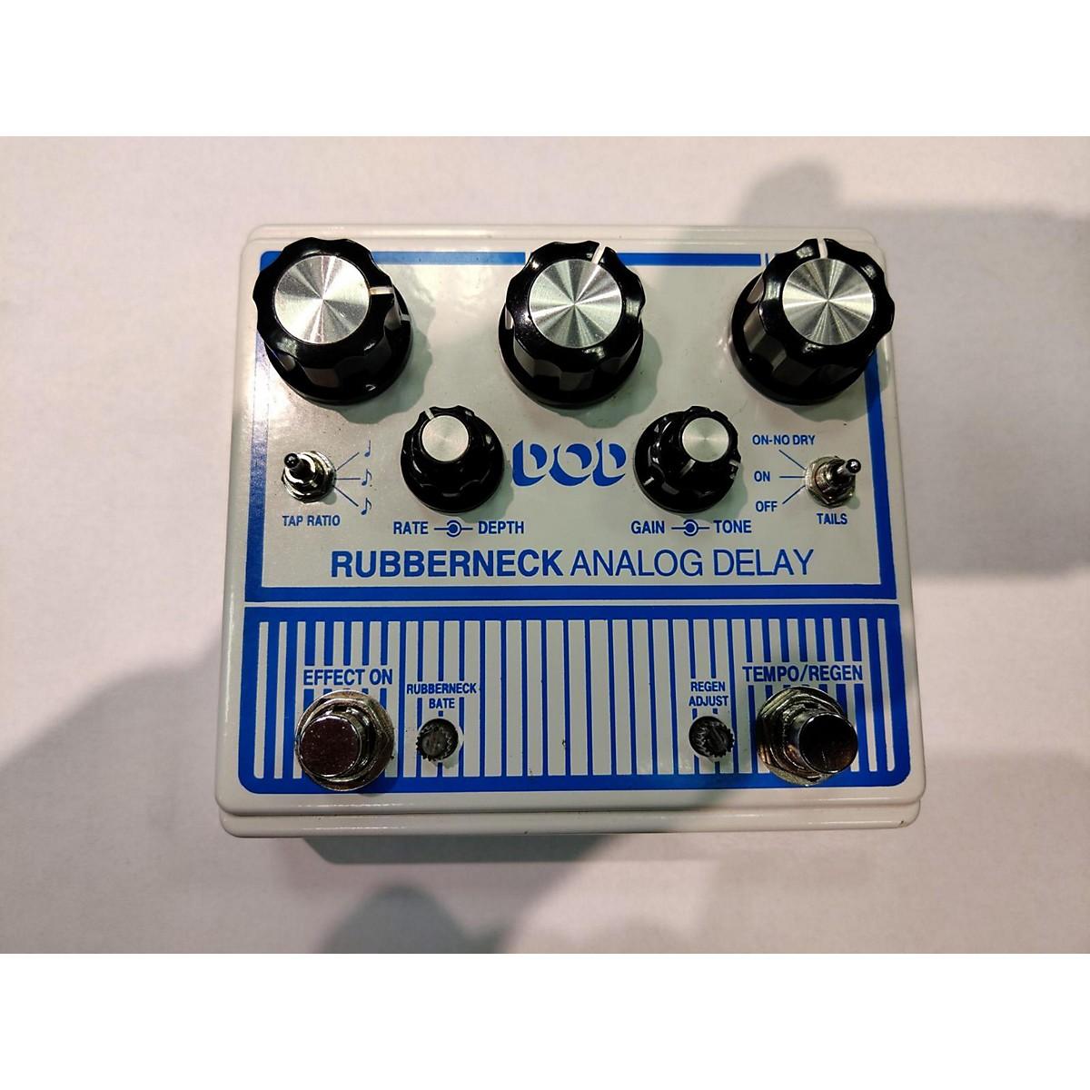 DOD Rubberneck Analog Delay Effect Pedal