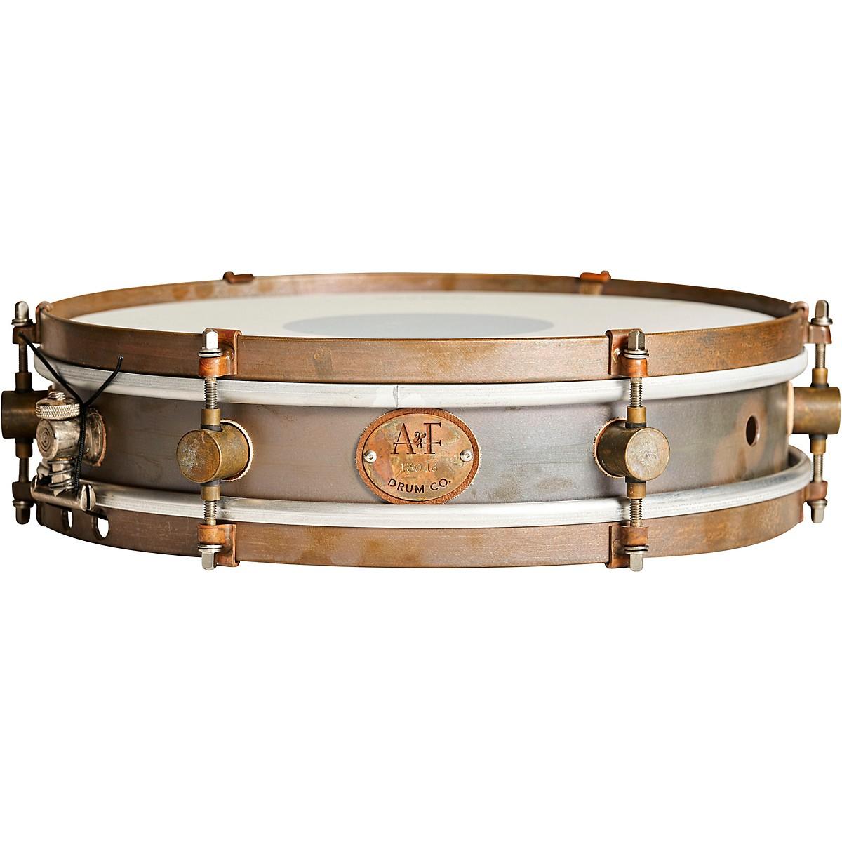 A&F Drum Co Rude Boy Brass Snare