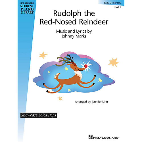 Hal Leonard Rudolph the Red-Nosed Reindeer Piano Library Series (Level Early Elem)