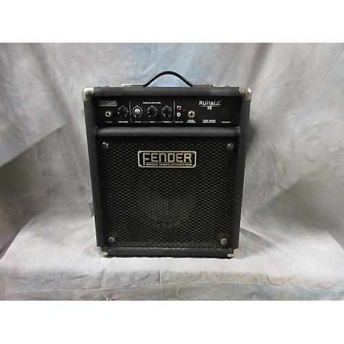 Fender Rumble 15 15W 1X8 Bass Combo Amp