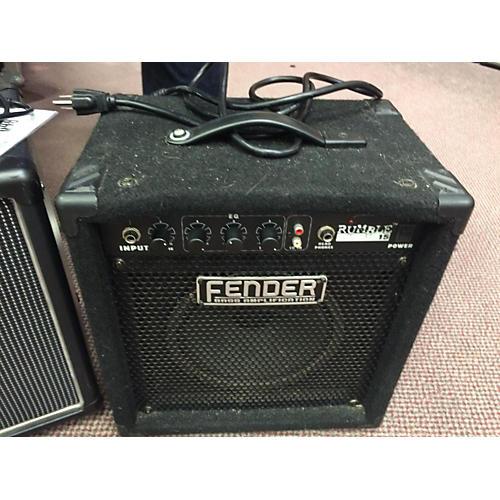 Fender Rumble 15 V2 15W 1X8 Black Bass Combo Amp