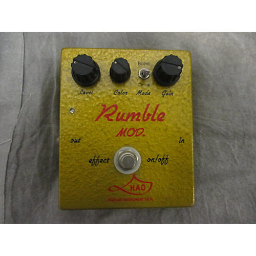 Hao Rumble Mod Effect Pedal
