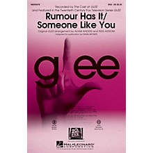 Hal Leonard Rumour Has It/Someone Like You (Choral Mash-up from Glee) ShowTrax CD by Adele Arranged by Adam Anders
