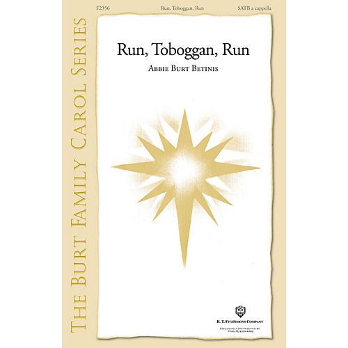 H.T. FitzSimons Company Run, Toboggan, Run SATB a cappella composed by Abbie Burt Betinis