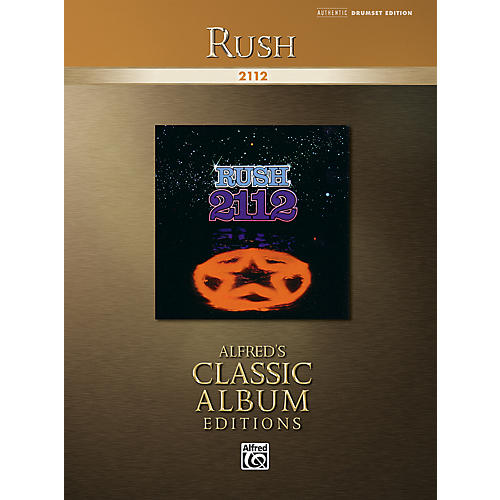 Alfred Rush: 2112 Drum Transcriptions Book