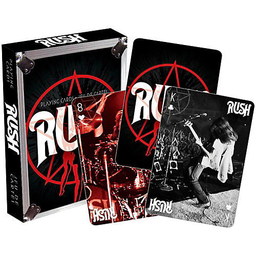 Hal Leonard Rush Vintage Playing Cards Single Deck