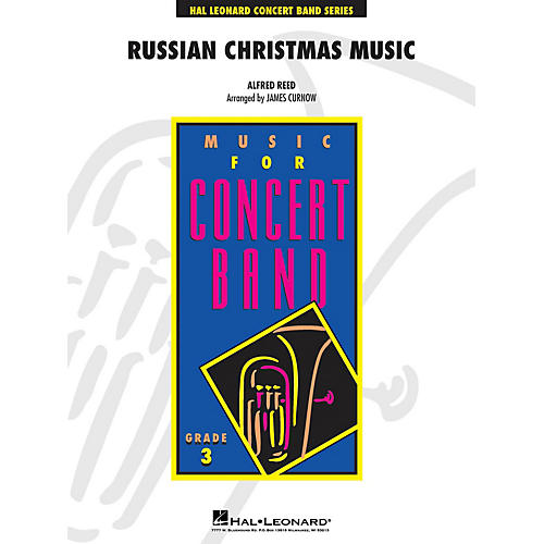 Hal Leonard Russian Christmas Music - Young Concert Band Level 3 by James Curnow