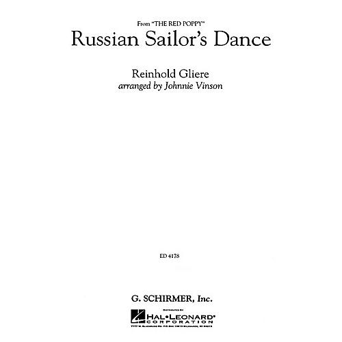 G. Schirmer Russian Sailor's Dance - Gr3 Cb - Full Score Concert Band