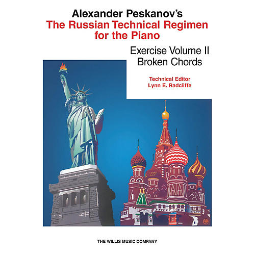 Willis Music Russian Technical Regimen - Vol. 2 (Broken Chords) Willis Series Softcover Composed by Alexander Peskanov