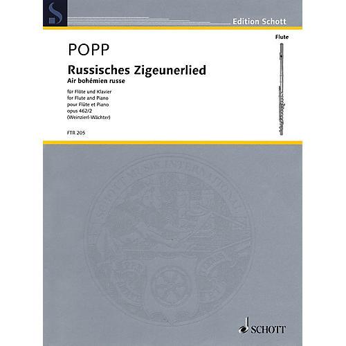 Schott Russisches Zigeunerlied (Air bohemian russe, Op. 462, No. 2 Flute and Piano) Woodwind Series Softcover