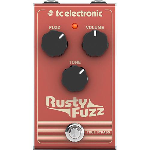 TC Electronic Rusty Fuzz Effect Pedal