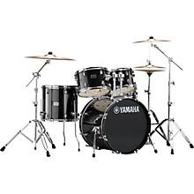 Rydeen 5-Piece Shell Pack with 20 in. Bass Drum Black Glitter