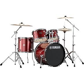 Yamaha Rydeen 5-Piece Shell Pack with 20 in. Bass Drum Burgundy Glitter