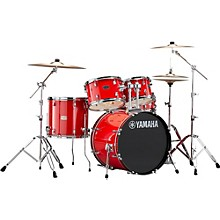 Rydeen 5-Piece Shell Pack with 20 in. Bass Drum Hot Red