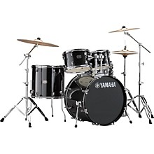 Rydeen 5-Piece Shell Pack with 22 in. Bass Drum Black Glitter